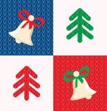 Элементы оформления рождества Стоковое Изображение RF