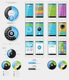 Элементы пользовательского интерфейса для веб-дизайна Стоковое Изображение