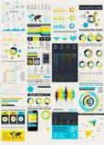 Элементы пользовательского интерфейса для веб-дизайна Стоковое Изображение RF