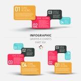 Элементы плоского дизайна вектора infographic Стоковое Фото