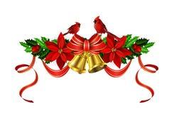 Элементы рождества для ваших дизайнов Стоковая Фотография RF