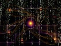 Элементы связей технологии иллюстрация штока