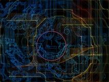 Элементы связей технологии бесплатная иллюстрация