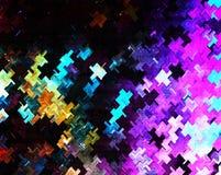 Элементы символа головоломки Shpaes Стоковое фото RF