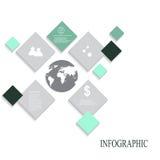 Элементы современного конспекта вектора infographic Стоковое Изображение RF