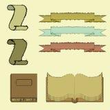 Элементы старого дизайна иллюстрация вектора