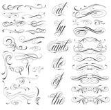 Элементы татуировки Стоковое Изображение