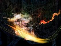 Элементы технологии Стоковое фото RF