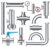 Элементы трубопровода стоковые изображения