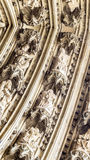 Элементы украшения на куполе Кёльна Стоковые Фото