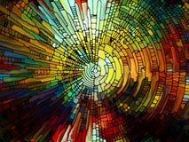 Элементы цветного стекла Стоковое Изображение RF