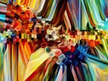 Элементы цветного стекла Стоковые Фотографии RF