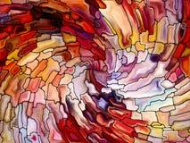 Элементы цветного стекла Стоковые Изображения