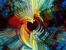 Элементы цветного стекла Стоковое фото RF