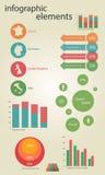 Элементы Infographic Стоковое Фото