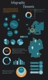 Элементы Infographic Стоковые Фото