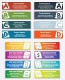 элементы infographic Стоковые Изображения RF