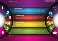 элементы infographic Стоковое фото RF