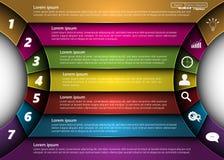 элементы infographic Стоковое Изображение
