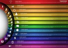 элементы infographic Стоковые Фотографии RF