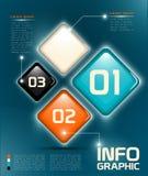 Элементы Infographic UI Стоковое фото RF