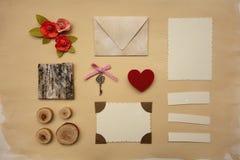 Элементы Scrapbook стоковые изображения rf