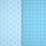 Элемент безшовной текстуры установленный голубой Стоковые Фотографии RF