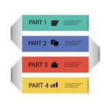 Элемент графика информации Стоковое Фото