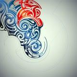 Элемент графического дизайна Стоковое Изображение RF