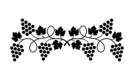 Элемент дизайна _виноградины иллюстрация штока