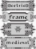 Элемент дизайна в ирландском стиле Стоковые Изображения RF