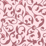 Элемент картины цветка вектора безшовный Элегантная текстура для предпосылок Классический роскошный старомодный флористический ор бесплатная иллюстрация