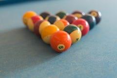 элемент конструкции биллиардов шариков Стоковые Изображения