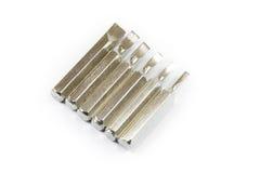 элемент конструкции возглавляет отвертку Стоковое Изображение RF