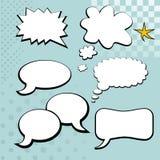 Элемент пузыря речи Стоковые Изображения