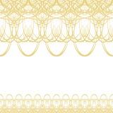 Элемент розетки орнамента Guilloche декоративный Стоковая Фотография RF