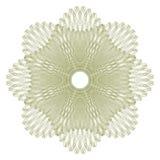 Элемент розетки элегантного guilloche декоративный бесплатная иллюстрация