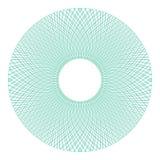 Элемент розетки элегантного guilloche декоративный иллюстрация вектора