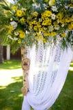 Элемент свода свадьбы стоковая фотография rf