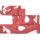 Элемент сети вектора для вашего desig Стоковое Изображение RF