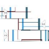 Элемент сеты вектора для вашего дизайна Стоковые Фотографии RF
