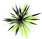 Элемент с случайными линиями лучами излучая Форма взрыва конспекта Стоковое Изображение