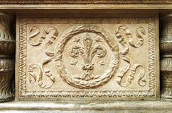 Элемент Fretwork исторических памятников стоковое фото rf
