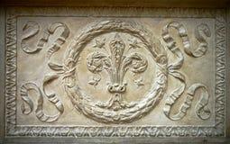 Элемент Fretwork исторических памятников стоковое изображение