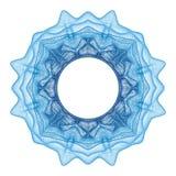 Элемент Guilloche декоративный Стоковое фото RF