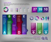 Элемент Infographic Стоковые Изображения RF