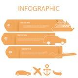 Элемент Infographic Стоковое Изображение