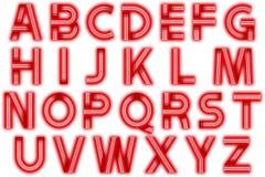 Элемент Scrapbooking стиля диско алфавита цифров Стоковая Фотография