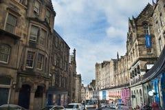 Эдинбург в лете Стоковое Изображение