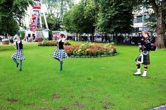Эдинбург, фестиваль 2014 Стоковое Изображение RF